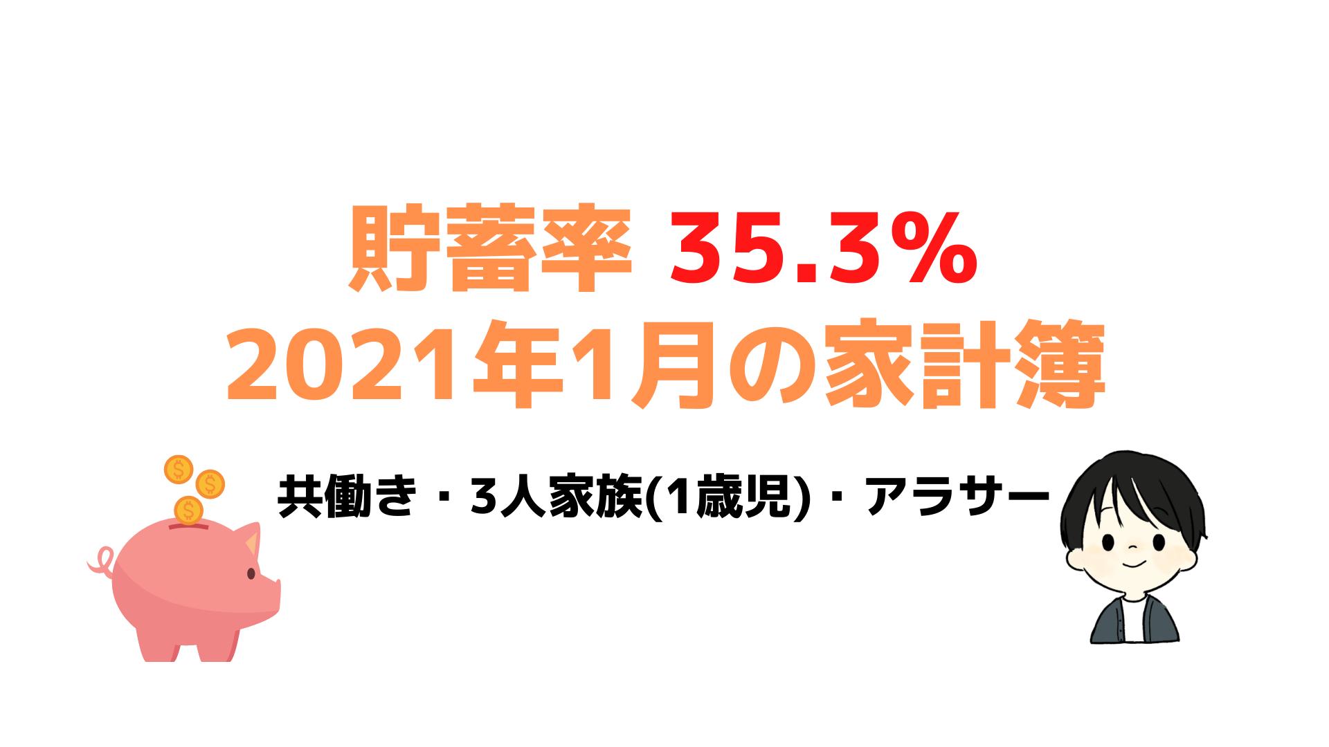 1月家計簿の報告